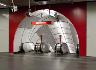 Subway Station - Wien
