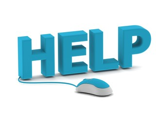 Help and computer mouse