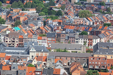 View of the city of Malines (Mechelen)  Belgium