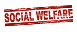 Social welfare poster