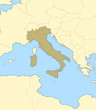 Detaily fotografie Map of Italy