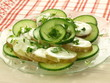 Cucumber with potato