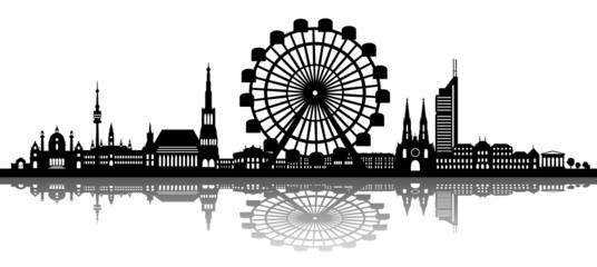 Wien Skyline Prater