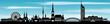 Wien Skyline Wolkenhimmel