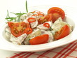 Vegetables in mayonnaise