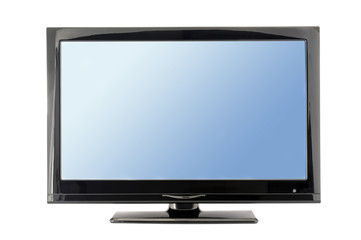 blue tv monitor