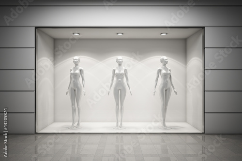 Boutique display window - 43209874