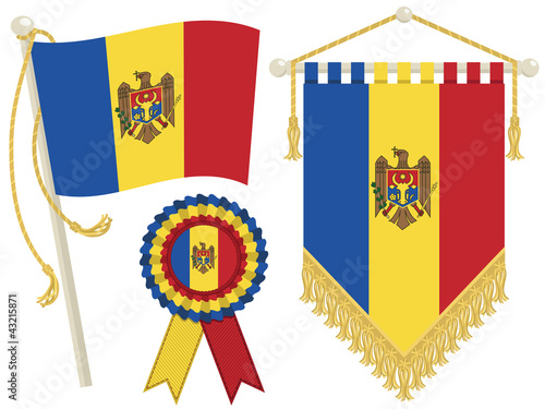 moldova flags