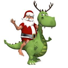 Prehistoric Santa
