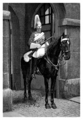 British Life Guard - 19th century