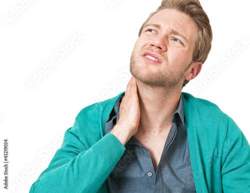 gestresster mann mit kopf und gliederschmerzen krank stockfotos und lizenzfreie bilder auf. Black Bedroom Furniture Sets. Home Design Ideas