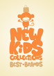 New kids collections design template.