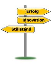 Erfolg Innovation Stillstand