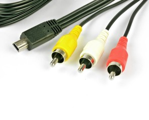 Audio cable connectors with USB