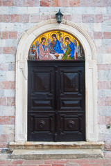 The doors of orthodox church