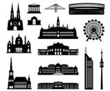 Fototapety Wien Baukasten detailliert