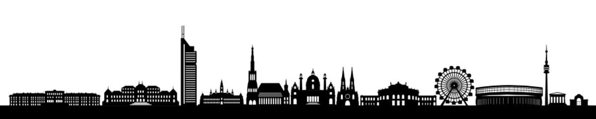 Skyline Wahrzeichen Wien