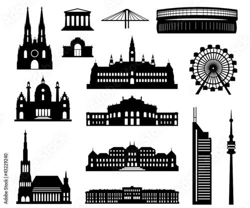 Wien Baukasten detailliert - 43229240
