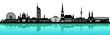 Wien Skyline Wasser