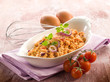 scrambled eggs with tomatoes