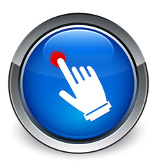 """""""Click here hand cursor"""" icon"""