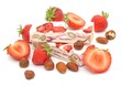 Erdbeeren, Nougat