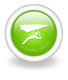 "Light Green Icon ""Hang Gliding"""