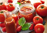 Flasche, Tomaten