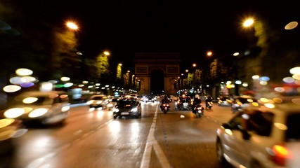 Traffic in Paris VIII