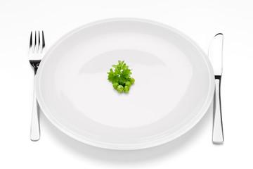 Strenge Diät