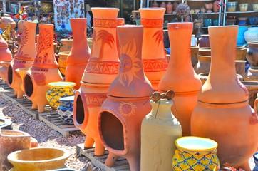 South Western fire pots