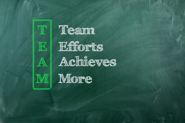 Team acronym