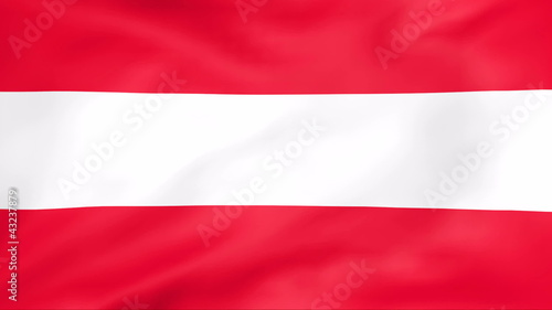 Developing the flag of Austria