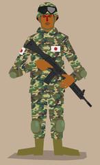 日本人の平和を守る者/自衛隊