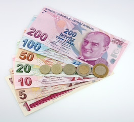 Türk Liraları, Paralar