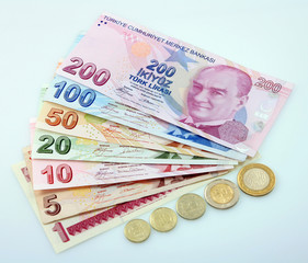 Türk Lira, Para