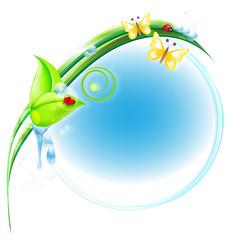 hintergrund - umweltfreundlich