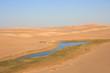 Naturalne źródło na pustyni okolice Siwy