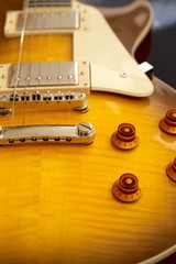 Jazz Rock Guitar Honeyburst