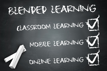 "Blackboard ""Blended Learning"""