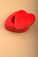 scatola a forma di cuore