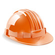 Construction safety helmet vector illustration