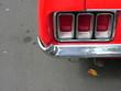 Heckleuchte eines amerikanischen Sportwagen der Siebziger Jahre