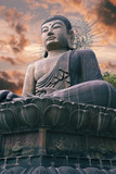 Fototapete Kunst - Asiatische spezialitäten - Statue