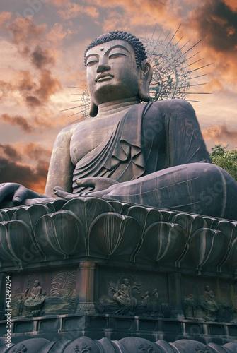 Giant statue of Buddha in Korea