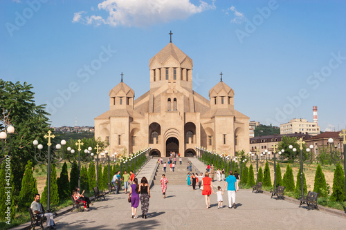 Saint Gregory the Illuminator Cathedral in Armenia , Yerevan