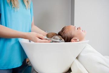 Washing Before Haircut