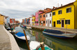 Burano, famous for it`s colourful houses.