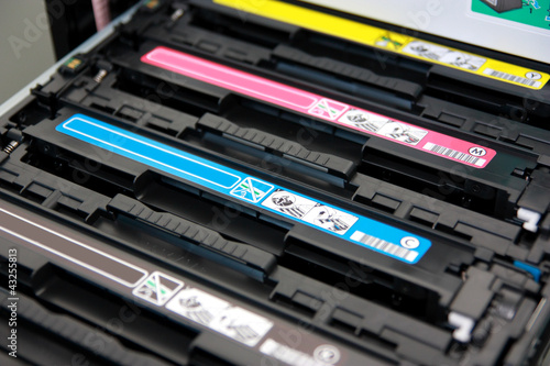 Cartridges of color laser multifunction printer - 43255813