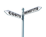 Costs Benefits Dilemma poster